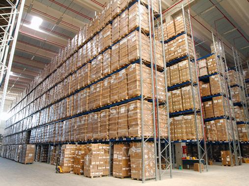 Scaffali Portapallet Industriali.Scaffalature Industriali Porta Pallet E Merci Sfuse